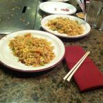 Fried rice on our Anniversary freshly made at your table