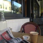 Morning coffee at Balmain