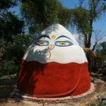 Mahadevi Ashram's Dark Retreat Dome for advanced spiritual practice in complete darkness