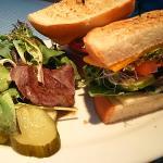 野菜のサンドイッチ