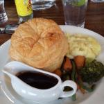 Steak & Ale Pie, Riverside setting
