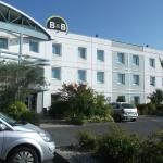 front of hotel and secure free carpark