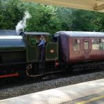 Steam train in Matlock...