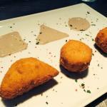 Malevich chicken nuggets with homemade mushroom mayo