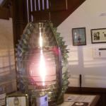 4th Order Fresnel Lens as you enter the Museum.
