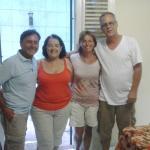 Con Hilda e Alejandro