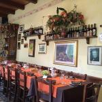Sala ristorante Albergo Melini