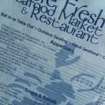 Shore Fresh Seafood Market Menu