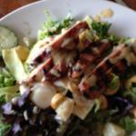 (gluten free) Teriyaki pork salad
