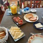 Desayuno casero y variado