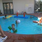 Kinderfreundlicher Pool, mit Ruhezeiten zur Mittagszeit