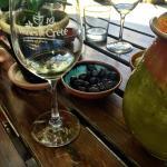 Wine tasting at Dourakis Winery