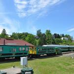Enjoy the Port Stanley train ride.