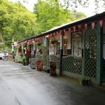 Woodlands cafe, Devils Bridge