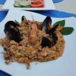 My favourite - sea food risotto - even though just in the warm appetisers section - was plenty