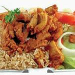 Chicken Shawarma with Rice