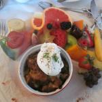 Super déjeuner avec fruits rares