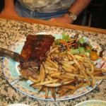 Pork rib meal