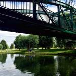 Green dragon bridge and views