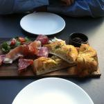 Antipasti sharing board, very tasty and just enough for two as a starter