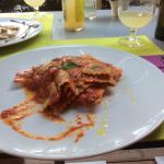 Fab vegan ravioli at Mondo Bio, Sorrento