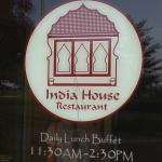 India House - sign on door