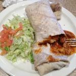 Red Beef Burrito