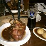 Pork knuckle and Dunkle