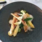 Chicken & asparagus main course