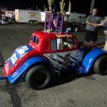 Legends car at Wall Stadium Speedway