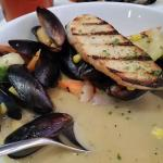 Clam appetizer to die for.