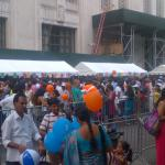 Full stall from end to end : Guru Palace @ India Day Parade, Aug 16, 2015, New York