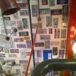 Ceiling of Red Light Restaurant