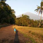 Mount ciremai nearby