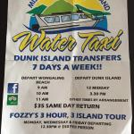 Mission Beach Dunk Island Water Taxi Foto