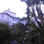 hotel visto dal giardino