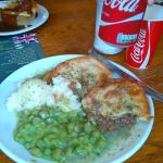 Double pie & mash with peas & liquor
