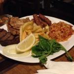 Piatto di carne alla griglia
