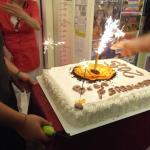 la torta della serata di gala