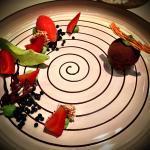 Das rot-grüne Dessert