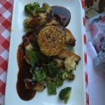 Filet mit provenzalischem Gemüse und Jus