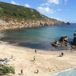 Lamorna Cove ... so pretty .. shame on the people that run the cafe