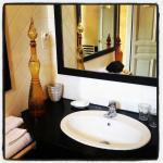 Salle de bain chambre Ambre