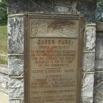 Sign at the Park's Entrance