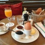 Le petit-déjeuner de la formule coup de coeur
