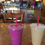 Pitaya and tropical smooties