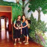 Hermosos murales en mangifera, pura vida <3