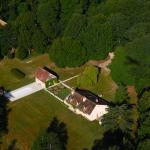 vue aérienne Domaine de la Pépinière
