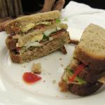 Giant tuna sandwich