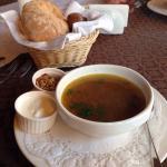 Очень вкусный грибной суп